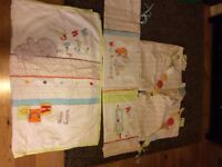 Mothercare Nursery Set including curtains