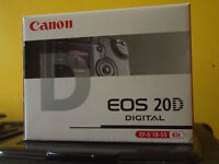 Canon EOS 20D Digital SLR Camera. (Can See Working!)