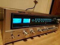 Nikko 7075 stereo am fm reciever amplifier vintage classic rare
