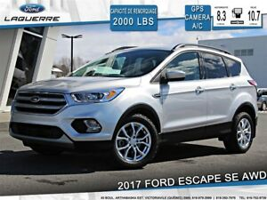 2017 Ford Escape SE**AWD*GPS*CAMERA*BLUETOOTH*CRUISE*A/C**