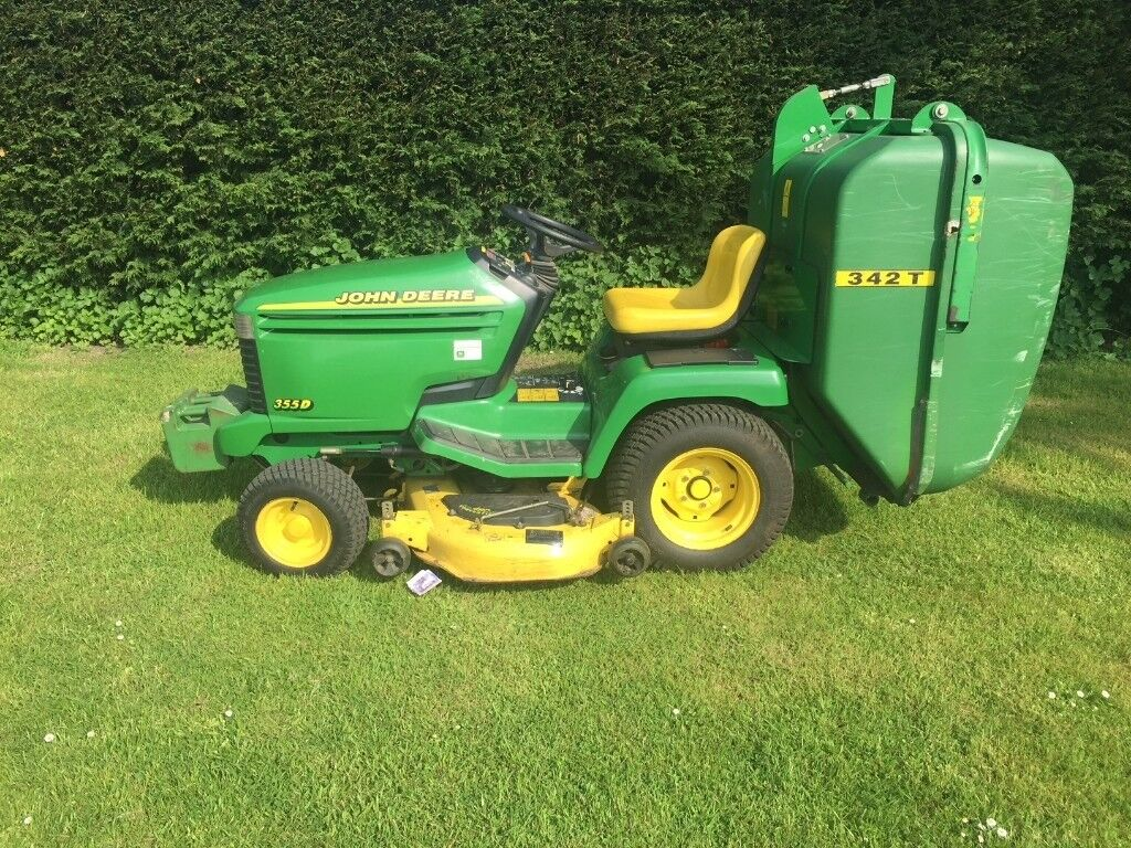 John Deere 355d Lawn Tractor Engines Wiring Diagram Ride On Mower With Clam Collector In Ipswich Suffolk Gumtree 1024x768