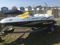 Seadoo Sportster 215 hp Supercharged Jet Boat