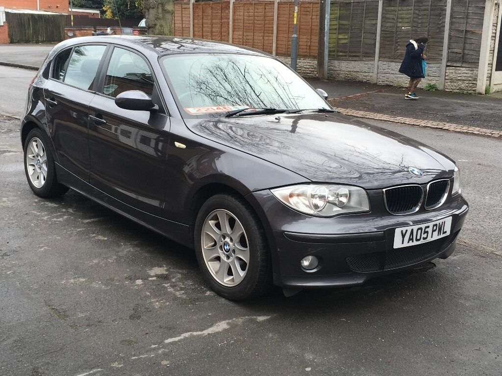 bmw 1 series 118 se diesel 2005 05 reg low mileage 53000 5 door on a cat c in the past p x. Black Bedroom Furniture Sets. Home Design Ideas