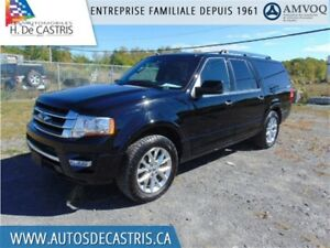 2017 Ford Expedition Max LIMITED*4X4, CUIR, TOIT OUVRANT, NAVI
