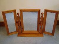 3 mirror folding dressing table mirror
