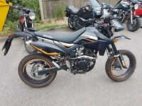 FAST EXAMPLE 70MPH+ LEARNER LEGAL 125CC LEXMOTO ADRENALINE. 800 MILES £17 A YEAR TAX