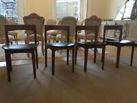 Mid century dining chairs - 4X