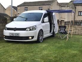 Vw Caddy c20 Trendline 2012 Candy white dropped on 19s 2 owners my swap