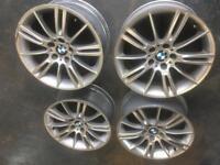 Genuine bmw mv3 3 series alloy wheels