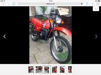 Kawasaki ke125 1986 spare or repair £650.
