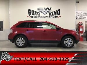 2007 Ford Edge SEL Plus / Leather / Roof / Nav / All Wheel