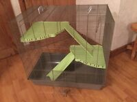 Large 2 floor cage