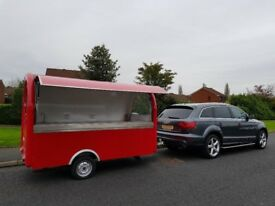 Catering Trailer Burger Van Hot Dog Ice Cream Food Cart 3000x1650x2300