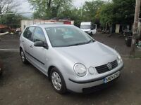 VOLKSWAGEN POLO 2004 1.2 LTR PETROL 74000 MILES 1 YEAR MOT VERY CLEAN CONDITION!!!