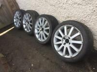"Ford Fiesta escort Focus puma 17"" st alloys £200"