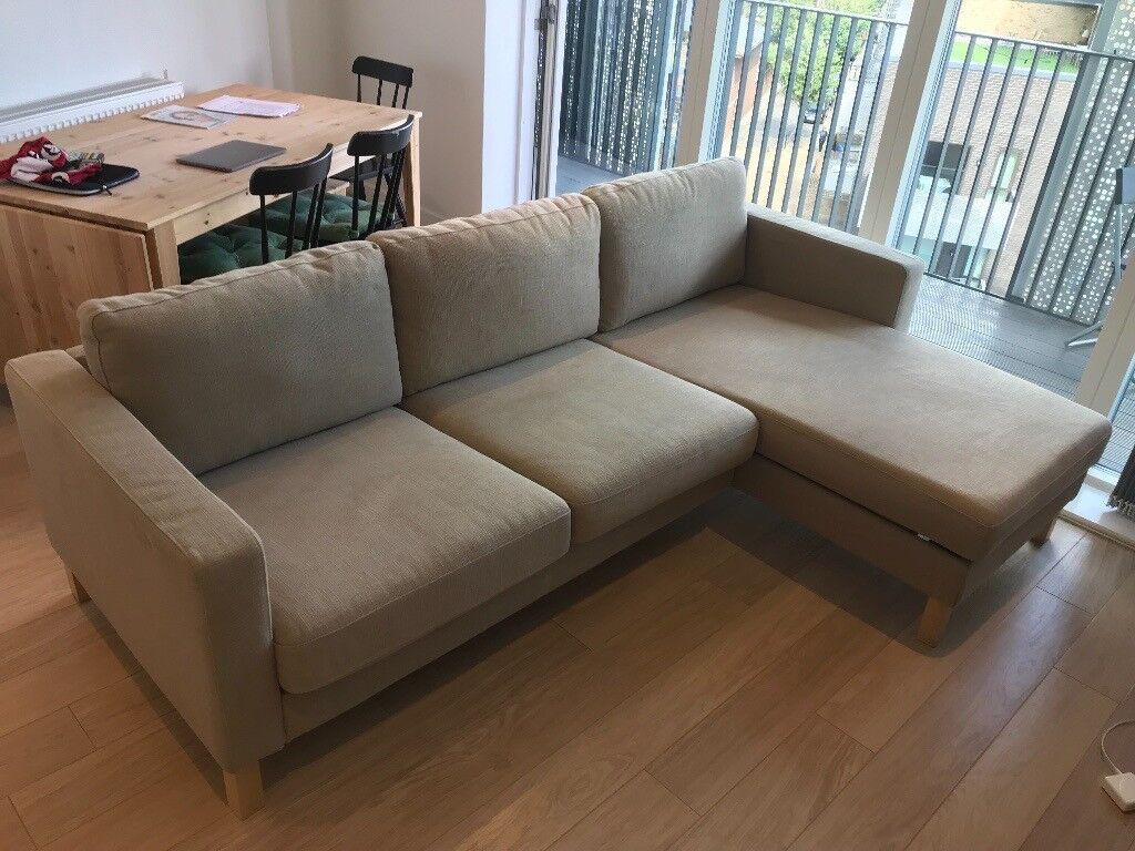 IKEA Karlstad 3-seater sofa (L-shaped) | in London | Gumtree