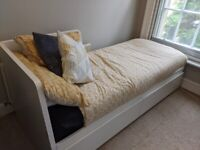 IKEA FLEKKE DAY BED WITH 2 MATTRESSES