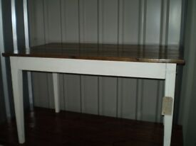 Vintage 4 ft. Dining Table
