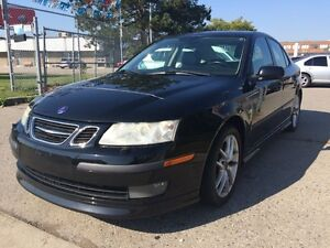 2004 Saab 9-3 6spd,safety +3 years warranty included