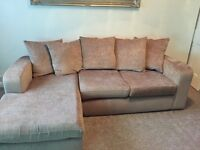 3 seater chase end seat and single chair
