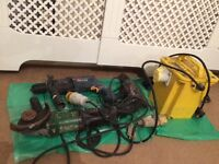 Transformer 2 Bosch drills and hitachi grinder