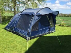 Outwell 5 person family tent- immaculate condition