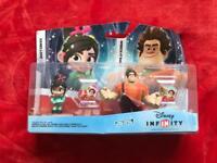 Disney Infinity characters - Wreck-it-Ralph and Venelope BNIB