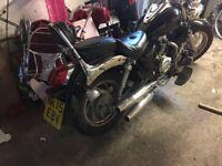 Pioneer Nevada 125cc and Yamaha xt 125 off road