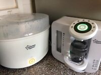 Tommee tippee prep machine and sterliser