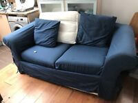 Sofa bed blue colour