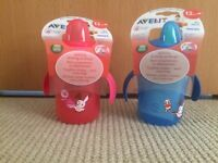 Avent Sippy cups & Baby cubes