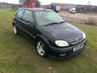 X REG CITROEN SAXO 1.4 i FURIO 3DR-12 MONTHS MOT-GREAT LOOKING LITTLE CAR-DRIVES WELL