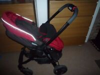 Graco evo pram with car seat
