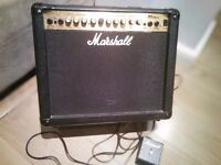 Marshal mg 30dfx 80watt amplifier with foot switch