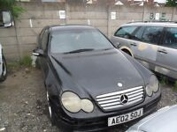 mercedes c220 cdi for spares or repairs