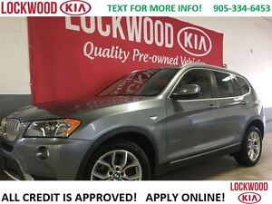 2014 BMW X3 xDrive28i - WINTER TIRES & RIMS, FULLY LOADED!!!