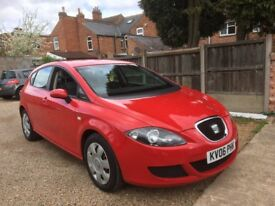 Seat Leon 1.6 Reference 5dr, FULL SERVICE HISTORY, TIMING BELT CHANGED, DRIVES EXCEPTIONALLY WELL