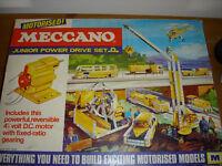 Meccano power drive set Mid 1970's