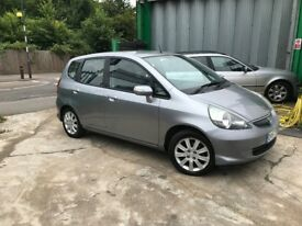FINANCE £ 69 PR MONTH 2007 HONDA JAZZ SE CVT 5DR HATCHBACK 1.4 PETROL AUTOMATIC 1 PREV OWNER SILVER