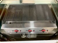 GAS 3 BURNER NEW CHAR GRIL BBQ RESTAURANT PERI PERI CHICKEN GRILL CATERING COMMERCIAL SHOP