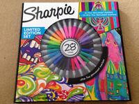 Sharpie marker pens - Limited edition 28 set