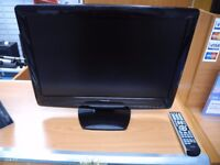 Toshiba 22'' Tv With Built in Freeview and Dvd Player w/remote