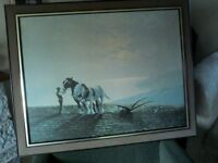 Horses and Ploughman