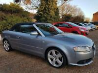 ** 2006 Audi A4 S-Line 2.0 Turbo Automatic Convertible **
