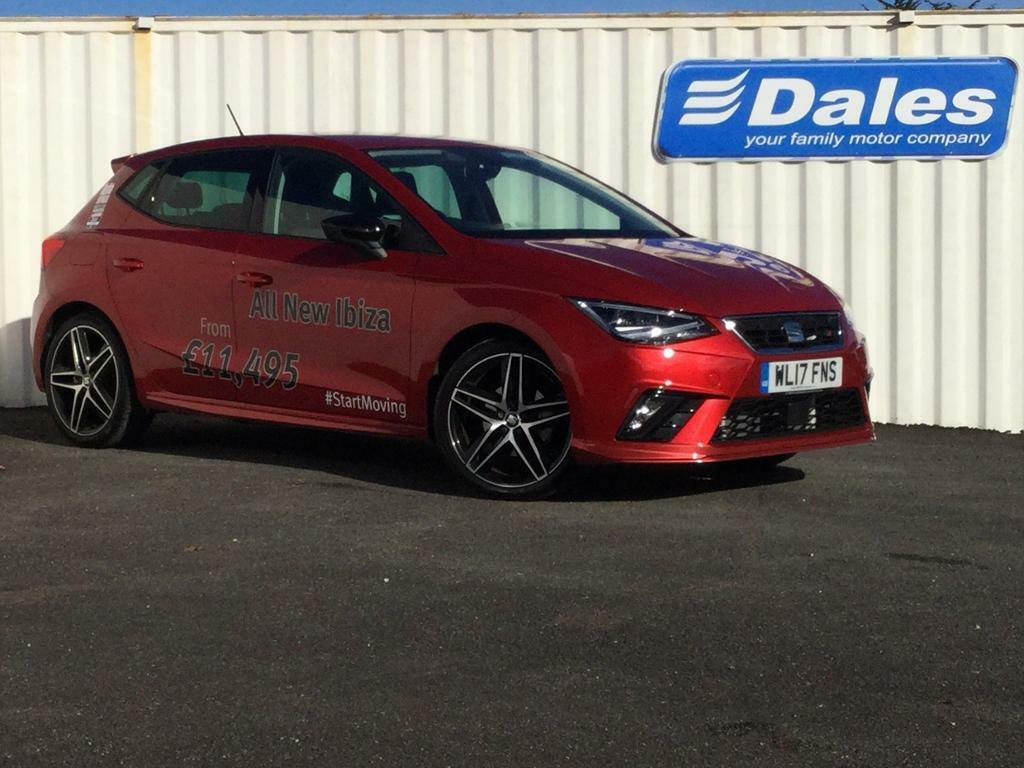 seat ibiza 1 0 tsi 115 fr 5dr red 2017 in redruth cornwall gumtree. Black Bedroom Furniture Sets. Home Design Ideas