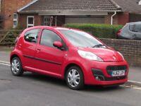 Peugeot, 107, Hatchback, 2012, Manual, 998 (cc), 5 doors