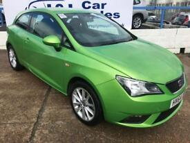 SEAT IBIZA 1.4 TOCA 3d 85 BHP A GREAT EXAMPLE INSIDE AND OUT (green) 2014