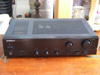 Fantastic Pioneer A-201 Stereo Integrated Amplifier and Free Philips CD723