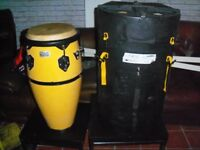 PLAYERS TOCA PLAYER SERIES KAMAN DRUM HEAVY DUTY CASE IN EXCELLENT CONDITION CAN DELIVER