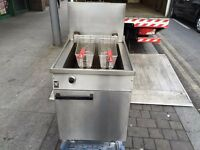 CATERING COMMERCIAL GAS FRYER TAKE AWAY CAFE RESTAURANT KEBAB CHICKEN FAST FOOD BAR
